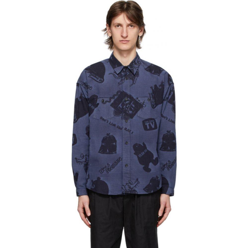 ポギーズボックス Poggy's Box メンズ シャツ デニム トップス【Blue Denim Shirt】Denim