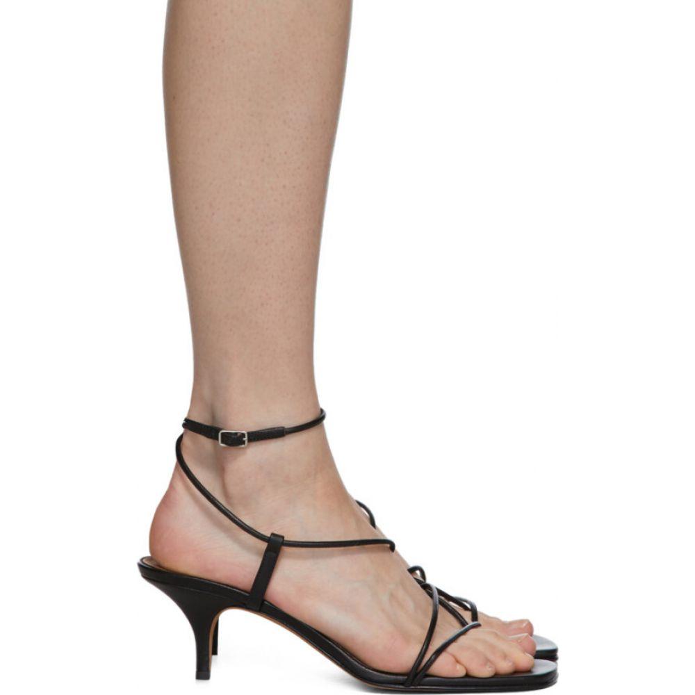 エマパーソンズ Emme Parsons レディース サンダル・ミュール シューズ・靴【Black Tobias Heeled Sandals】Black