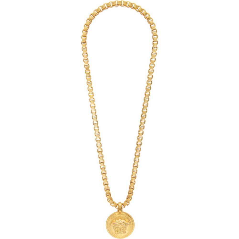 ヴェルサーチ Versace メンズ ネックレス メデューサ ジュエリー・アクセサリー【Gold Chain Medusa Necklace】Gold