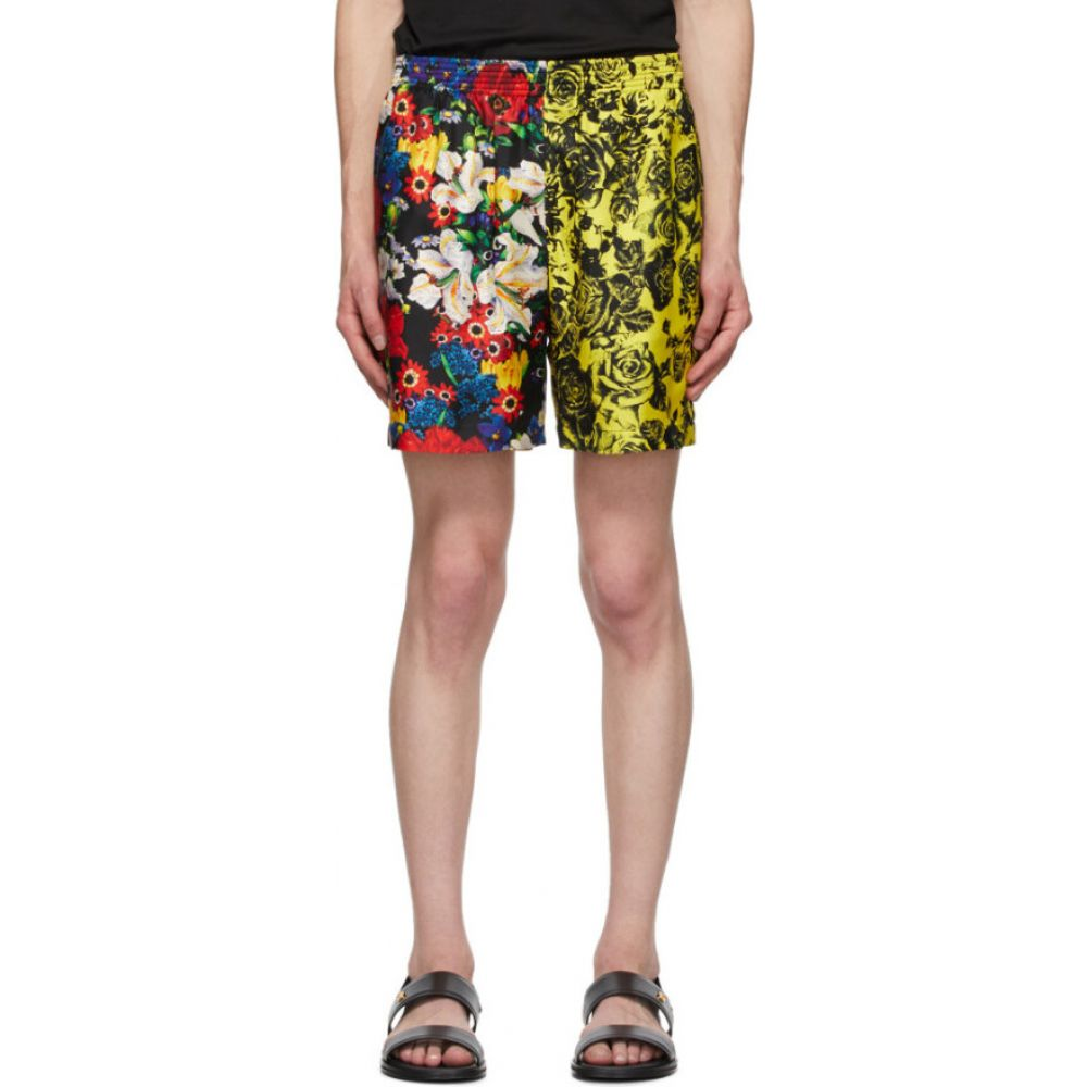 ヴェルサーチ Versace メンズ ショートパンツ ボトムス・パンツ【SSENSE Exclusive Multicolor Silk Bouquet Shorts】Multi