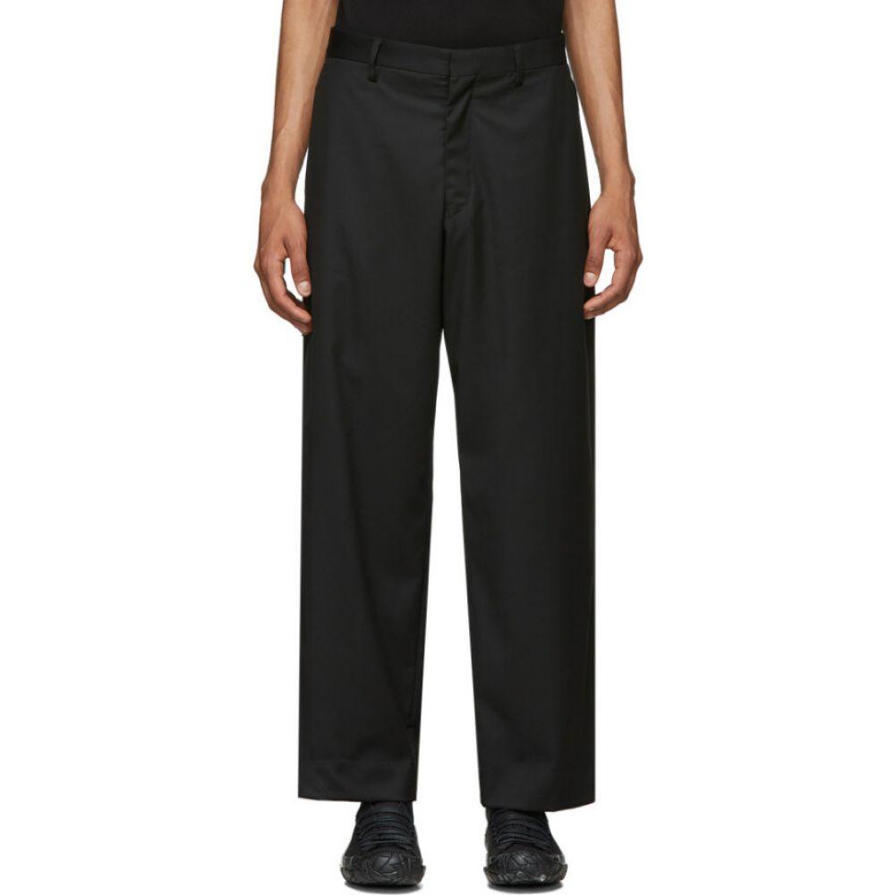 サスクワッチファブリックス Sasquatchfabrix. メンズ ボトムス・パンツ 【Black Wide-Leg Trousers】Black