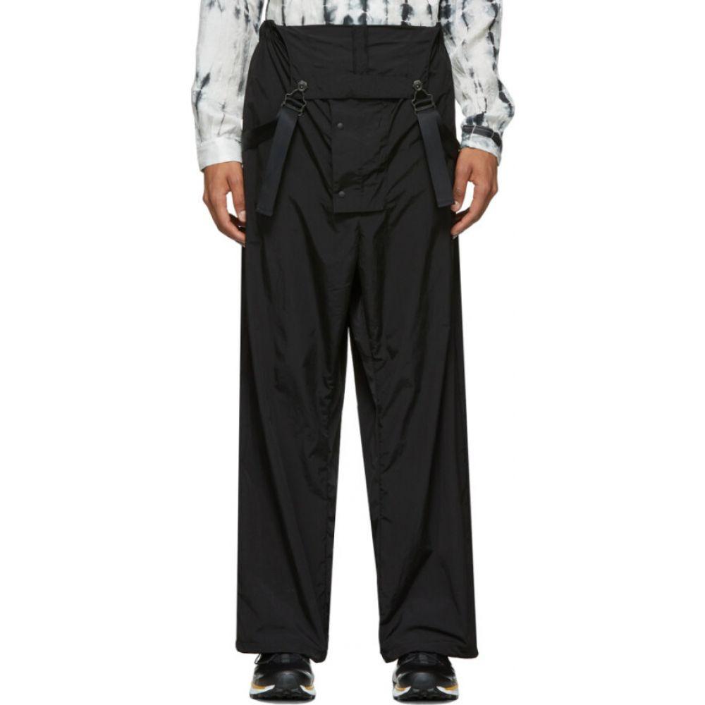 サスクワッチファブリックス Sasquatchfabrix. メンズ オーバーオール ボトムス・パンツ【Black Nylon Overalls】Black