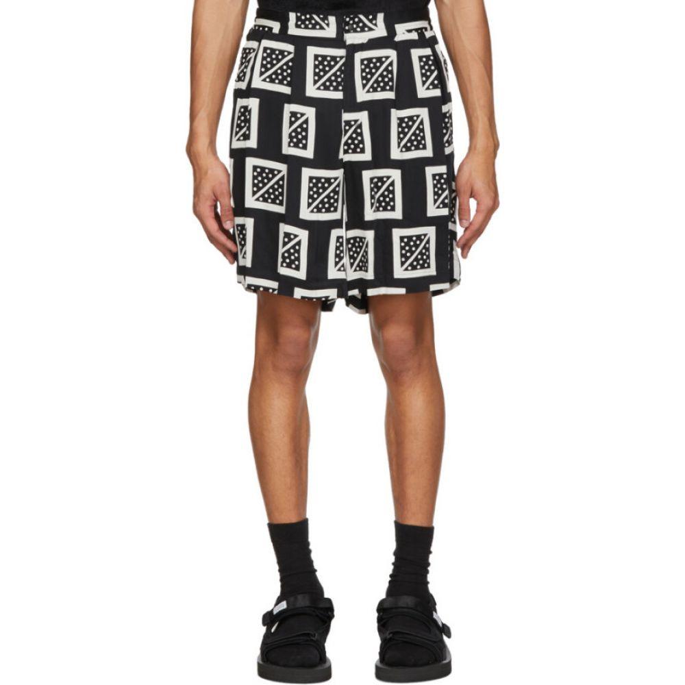 サスクワッチファブリックス Sasquatchfabrix. メンズ ショートパンツ ボトムス・パンツ【Black Masu Shorts】Black