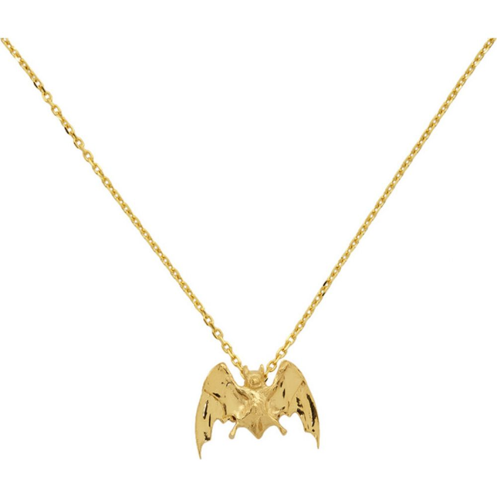 アンダーカバー Undercover メンズ ネックレス ジュエリー・アクセサリー Gold Bat Necklace GoldUMLzGpqSV