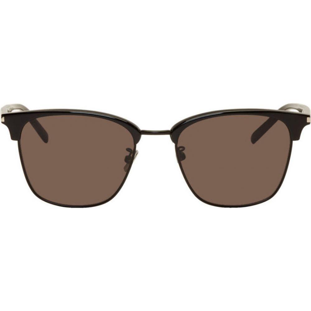 イヴ サンローラン Saint Laurent メンズ メガネ・サングラス 【Black SL 326/K Sunglasses】Black