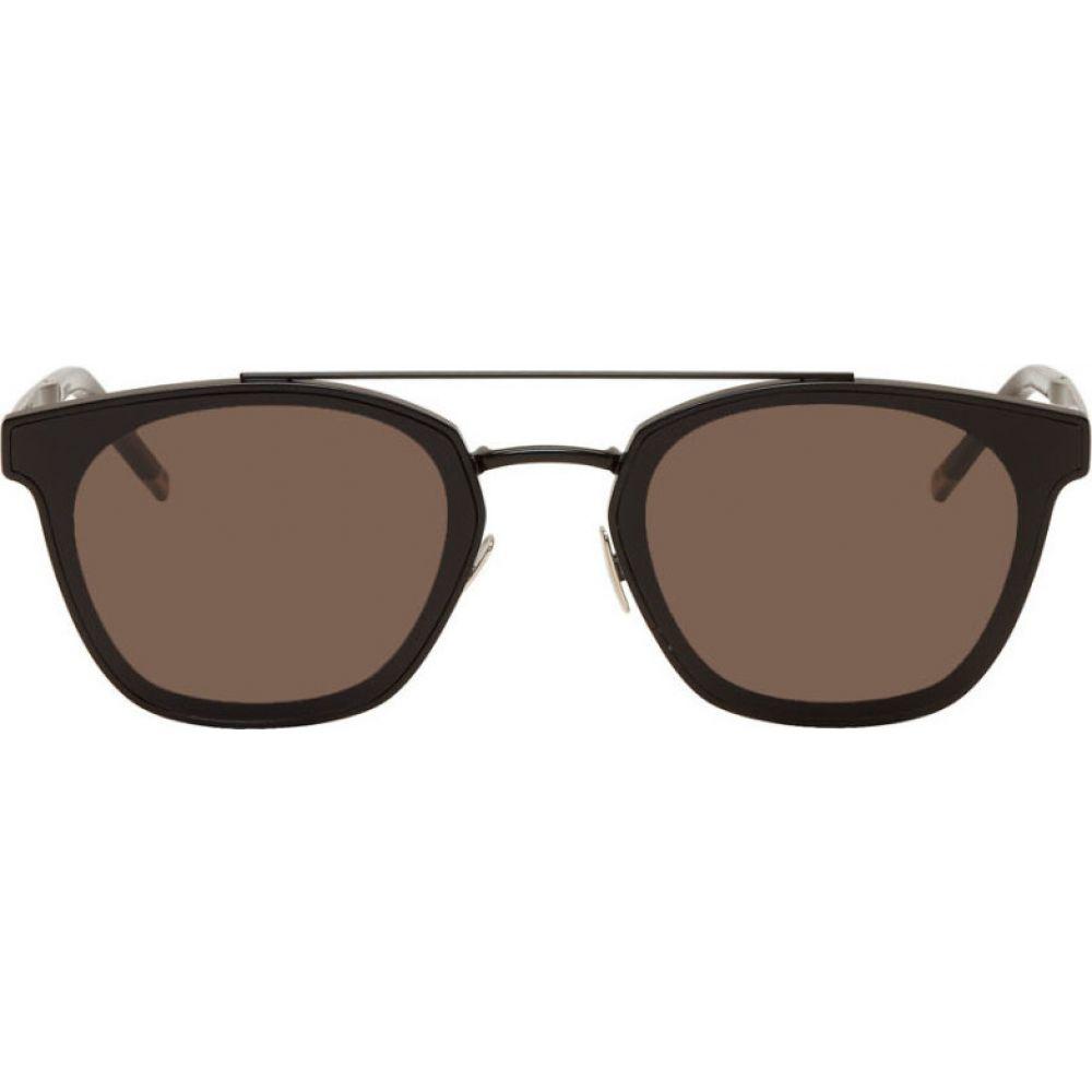 イヴ サンローラン Saint Laurent メンズ メガネ・サングラス 【Black SL 28 Sunglasses】Black