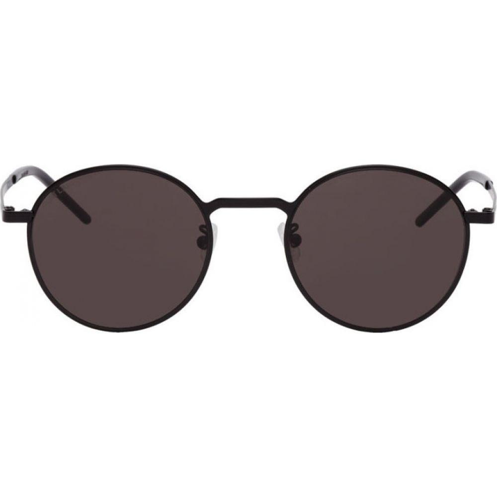イヴ サンローラン Saint Laurent メンズ メガネ・サングラス 【Black SL 250 Sunglasses】Black