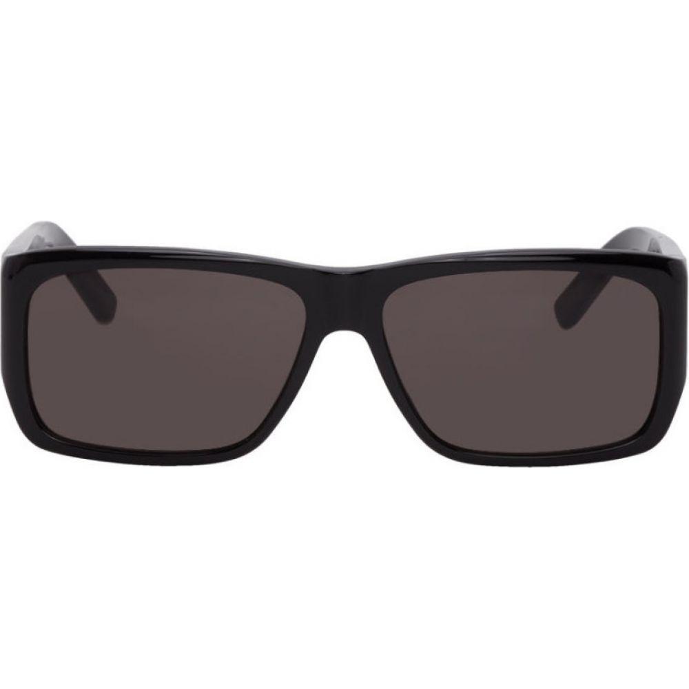 イヴ サンローラン Saint Laurent メンズ メガネ・サングラス 【Black SL 366 Lenny Sunglasses】Black