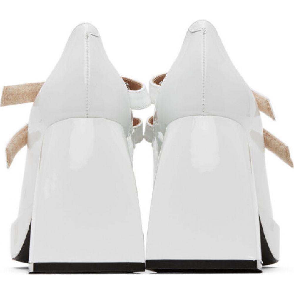 ノダレト Nodaleto レディース ヒール シューズ・靴 White Bulla Babies Heels Ceramica glass80nyNOPvmw