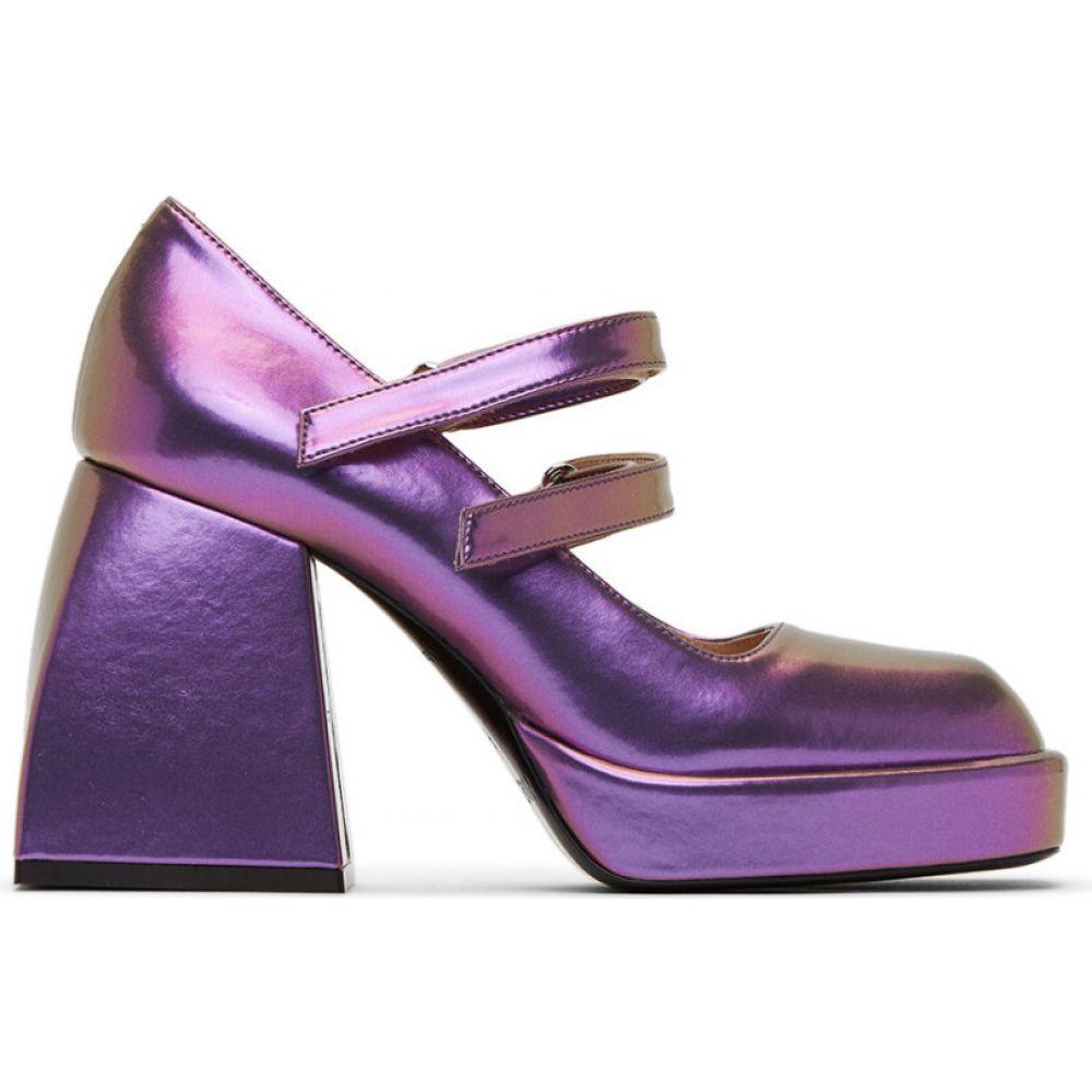 ノダレト Nodaleto レディース ヒール シューズ・靴【Purple Bulla Babies Heels】Ultra violet