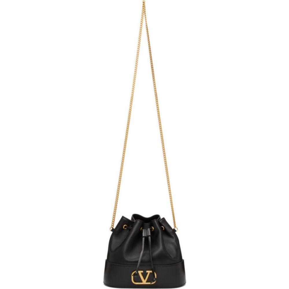 ヴァレンティノ Valentino レディース ショルダーバッグ バケットバッグ バッグ【Black Garavani VLogo Bucket Bag】Black