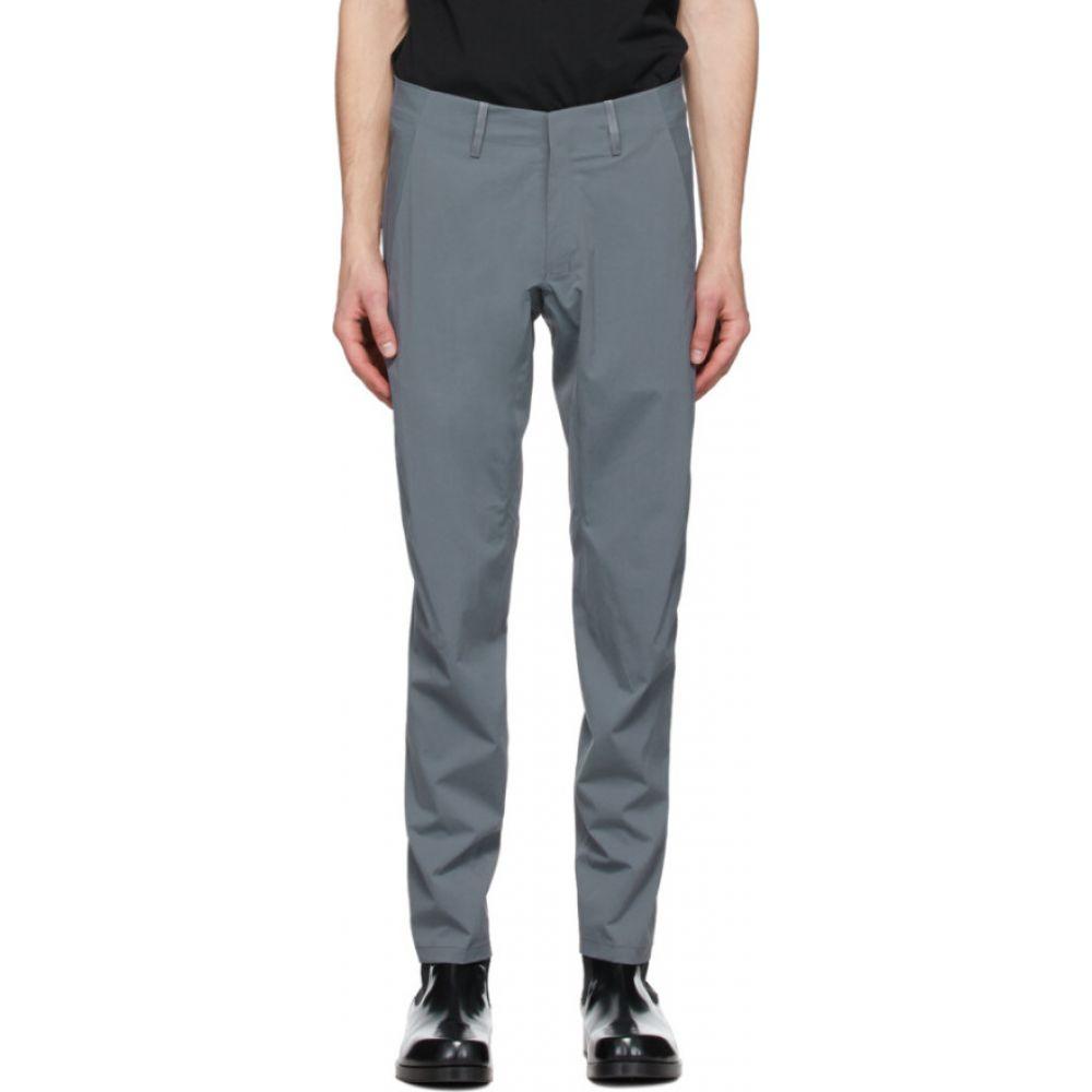 ヴェイランス Veilance メンズ ボトムス・パンツ 【Grey Convex LT Trousers】Slate
