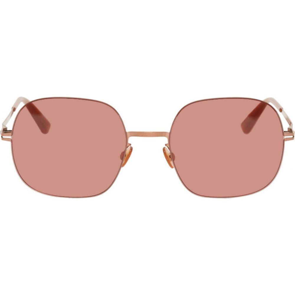マイキータ Mykita メンズ メガネ・サングラス 【Rose Gold Momo Sunglasses】Shiny copper