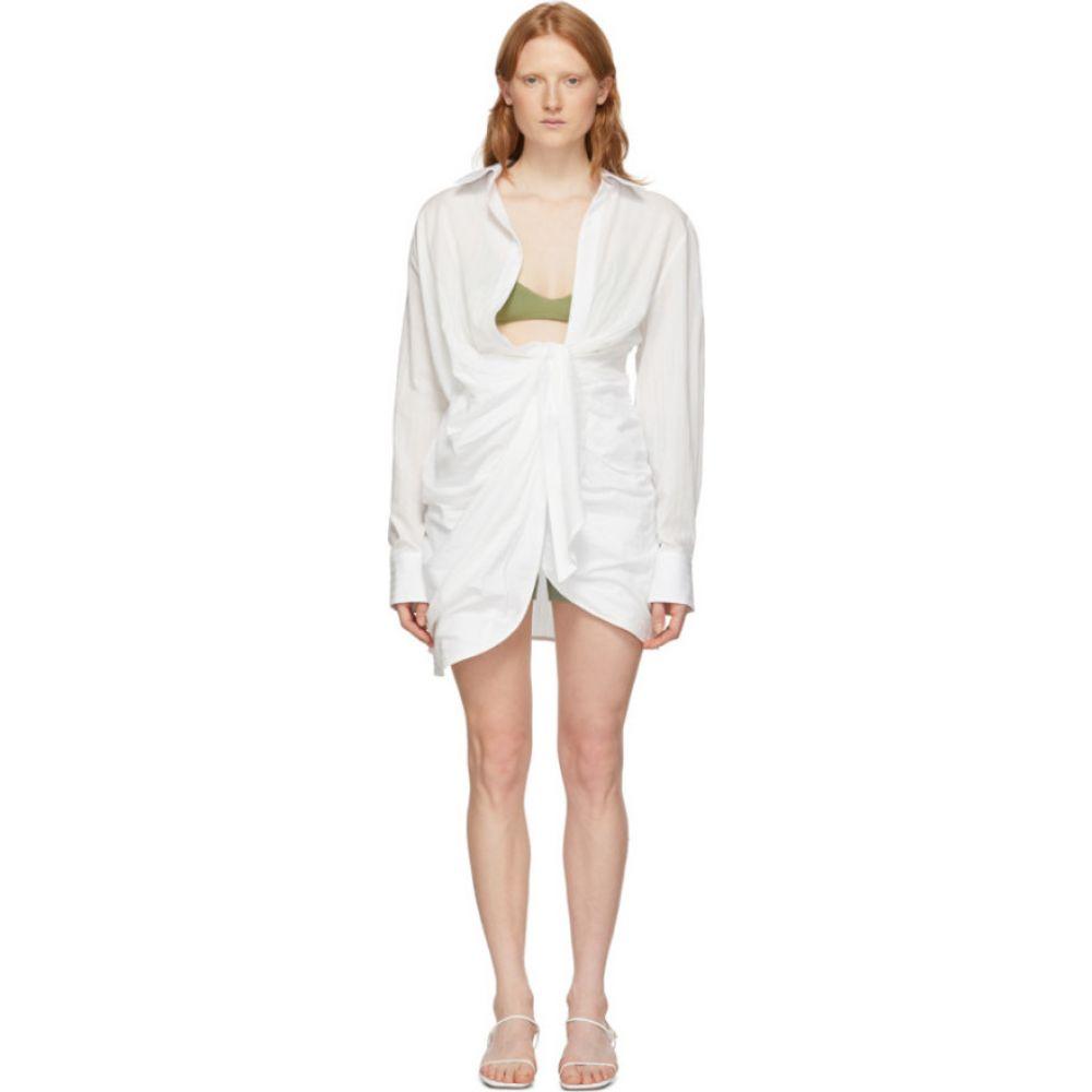 ジャックムス Jacquemus レディース ワンピース ワンピース・ドレス【White 'La Robe Bahia' Dress】White