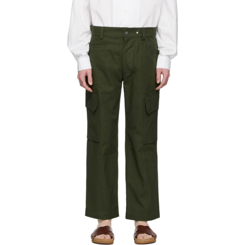 ジャックムス Jacquemus メンズ ボトムス・パンツ 【Green 'Le Pantalon Cueillette' Trousers】Green