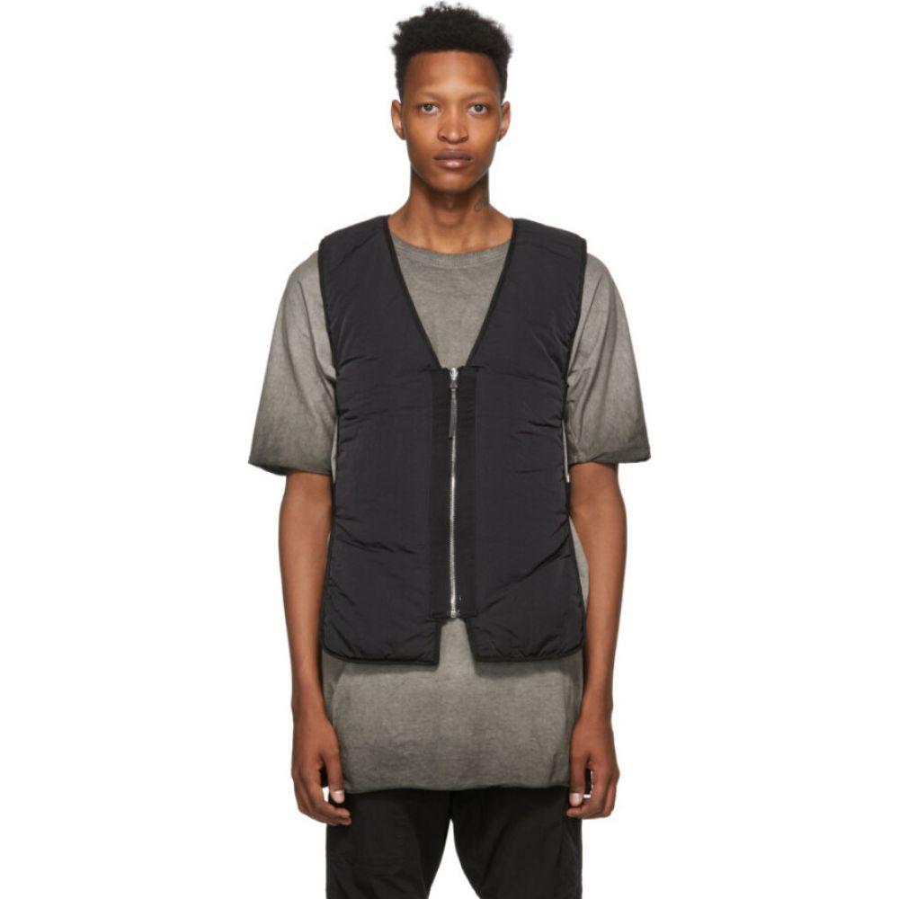 ボリス ビジャン サベリ 11 by Boris Bidjan Saberi メンズ ベスト・ジレ トップス【Black Primaloft Padded Vest】Black