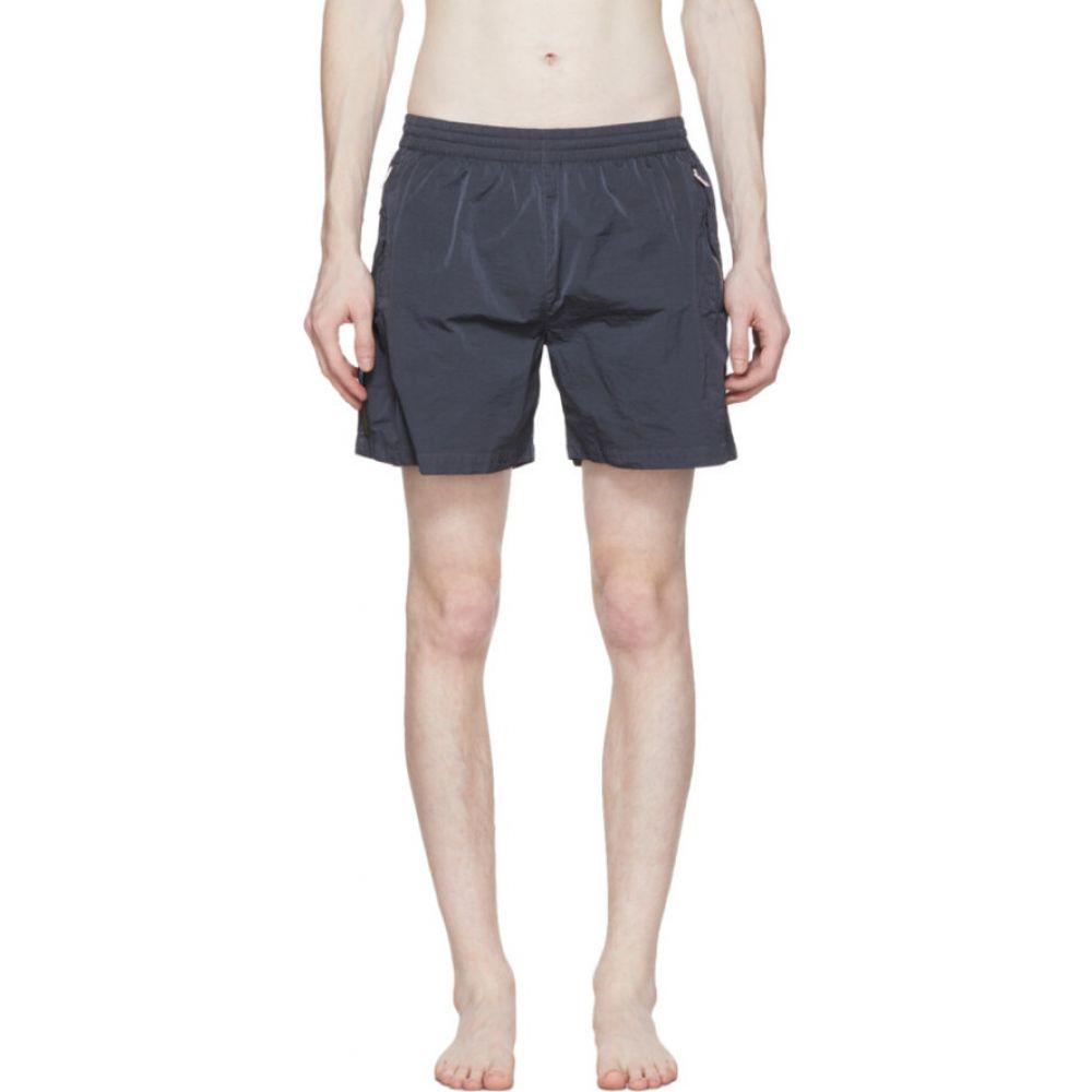 フィリング ピース Filling Pieces メンズ ショートパンツ ボトムス・パンツ【Blue Nylon Cord Shorts】Ombre blue