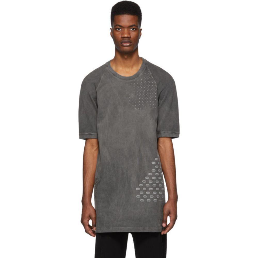 ボリス ビジャン サベリ 11 by Boris Bidjan Saberi メンズ Tシャツ トップス【Black Bamba T-Shirt】