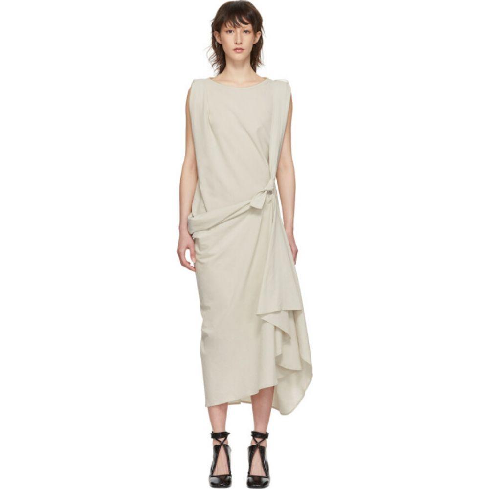 ルメール Lemaire レディース ワンピース ワンピース・ドレス【Grey Asymmetrical Dress】