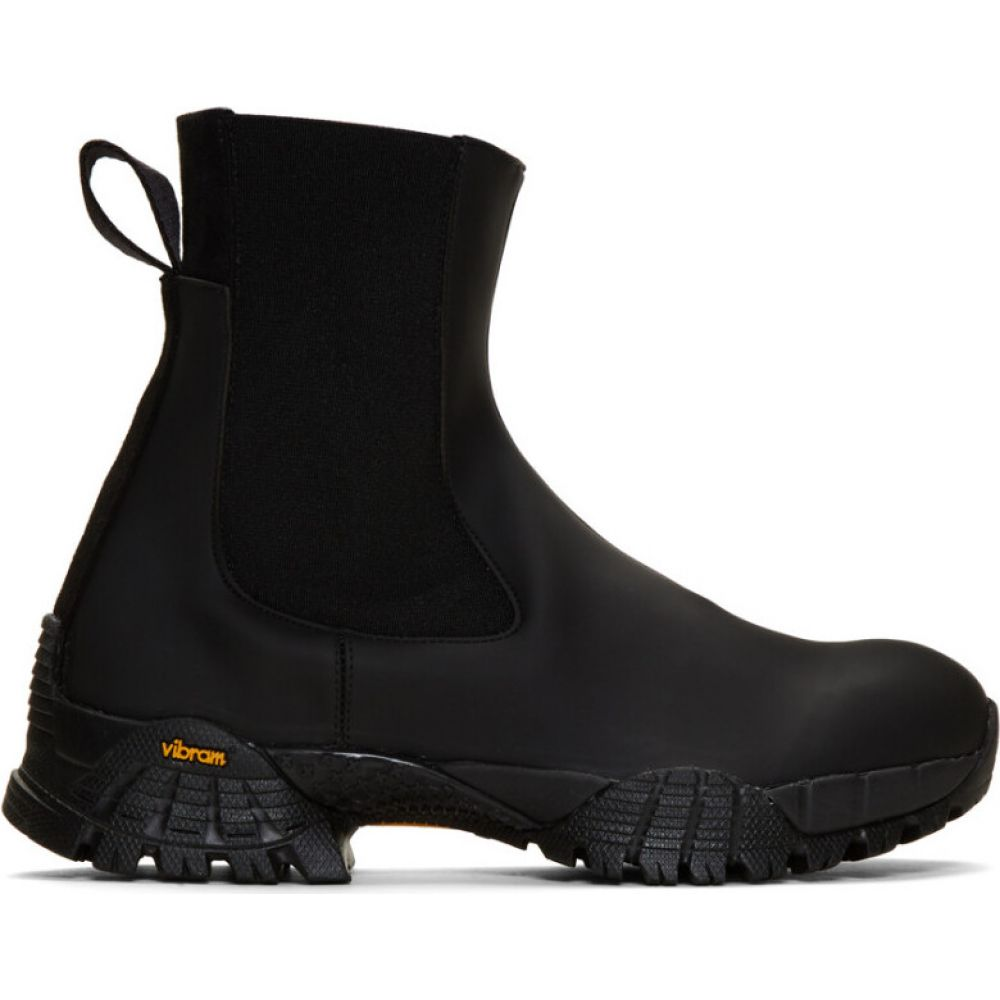アリクス 1017 ALYX 9SM レディース ブーツ チェルシーブーツ シューズ・靴【Black Rubber Sole Chelsea Boots】