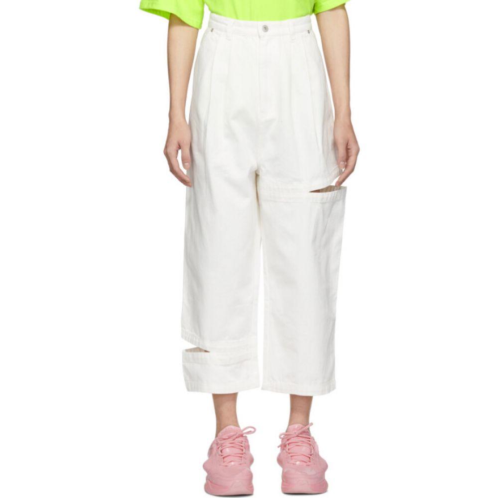 パークスアンドミニ Perks and Mini メンズ ジーンズ・デニム ボトムス・パンツ【SSENSE Exclusive White Bri Bri Jeans】