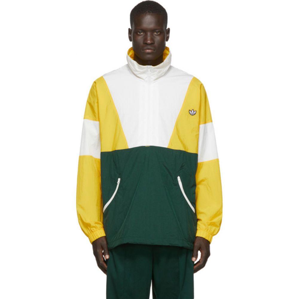 アディダス adidas Originals メンズ ジャージ アウター【Yellow Colorblock Track Jacket】Super yellow/Core white/Green night