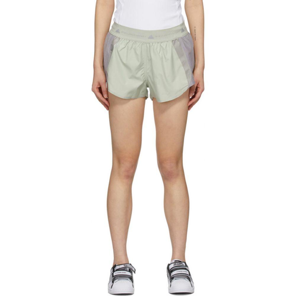 アディダス adidas by Stella McCartney レディース ショートパンツ ボトムス・パンツ【Grey AZ Shorts】Pebble