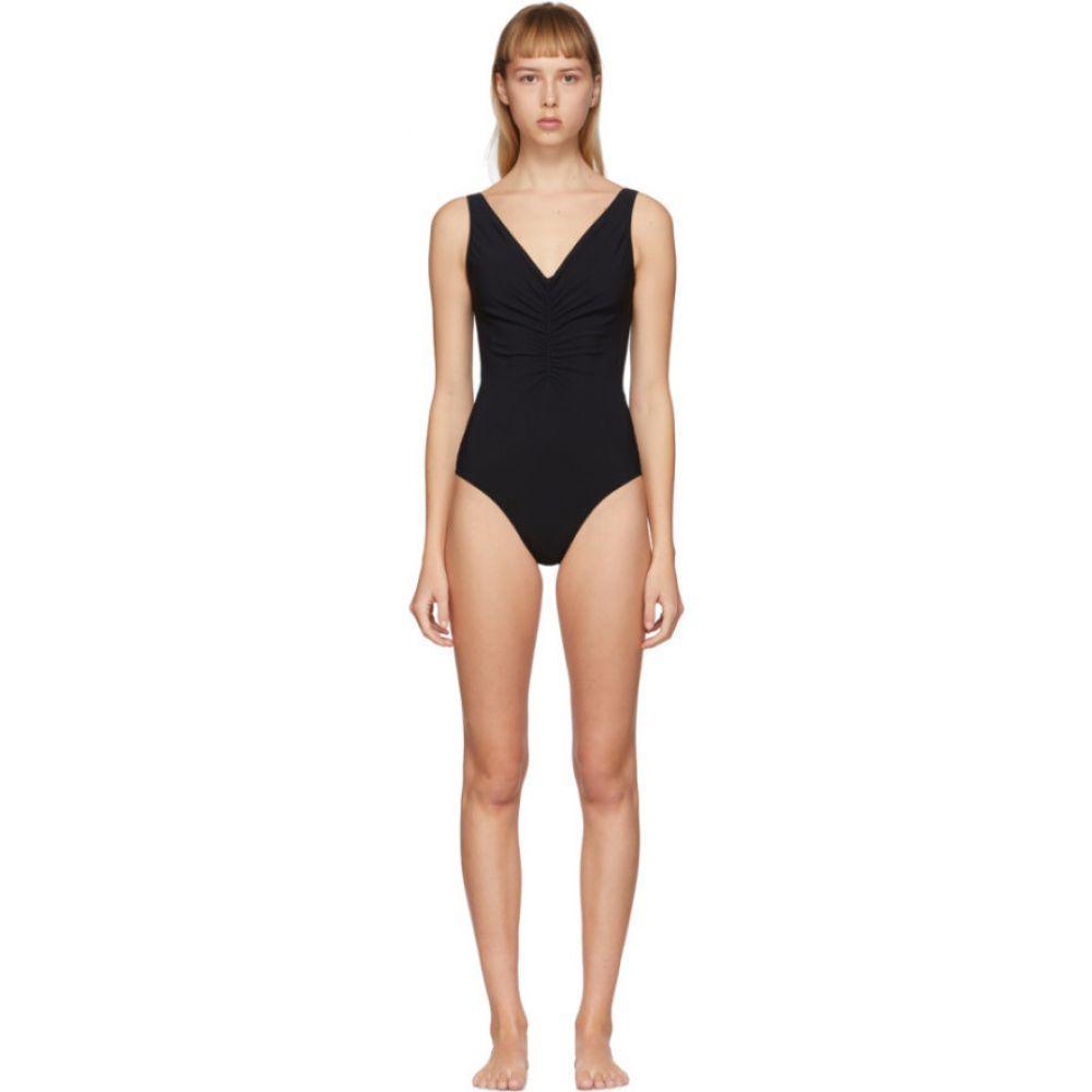 トーテム Toteme レディース ワンピース 水着・ビーチウェア【Black Sondrio One-Piece Swimsuit】Black