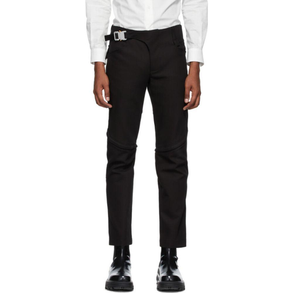 アリクス 1017 ALYX 9SM メンズ ボトムス・パンツ 【Black Crescent Zip Trousers】Black
