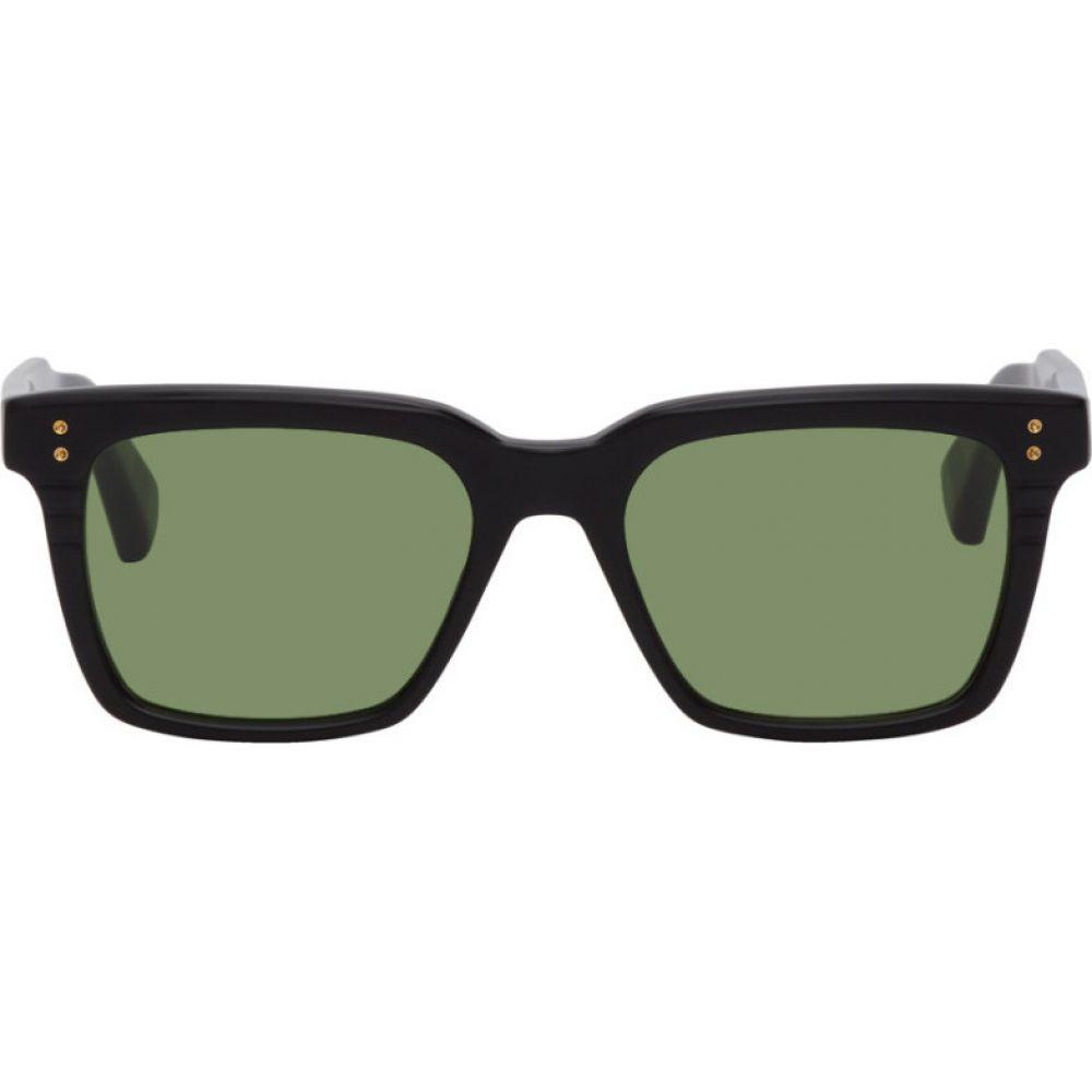 ディータ Dita メンズ メガネ・サングラス 【Black & Green Sequoia Sunglasses】Black/Green