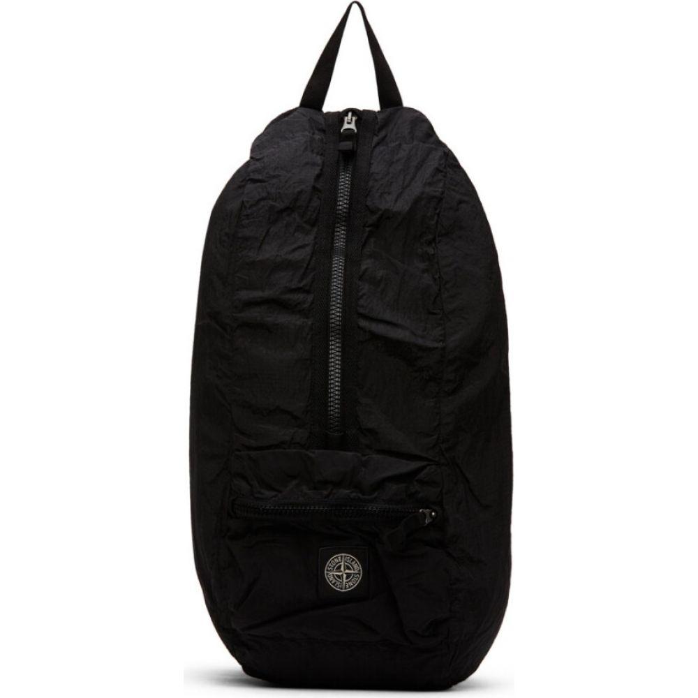 ストーンアイランド Stone Island メンズ バックパック・リュック バッグ【Black Nylon Backpack】Black