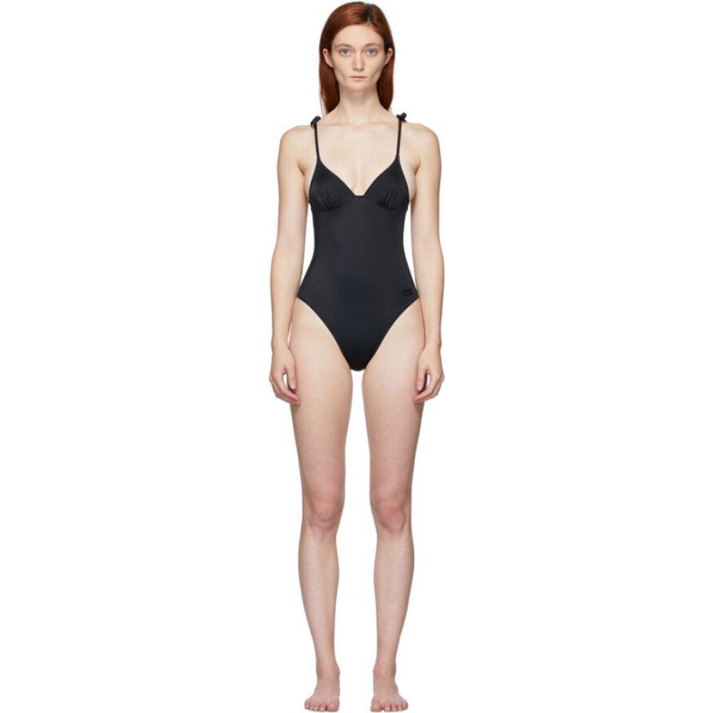 ソリッド&ストライプ Solid & Striped レディース ワンピース 水着・ビーチウェア【Black 'The Olympia' One-Piece Swimsuit】Black