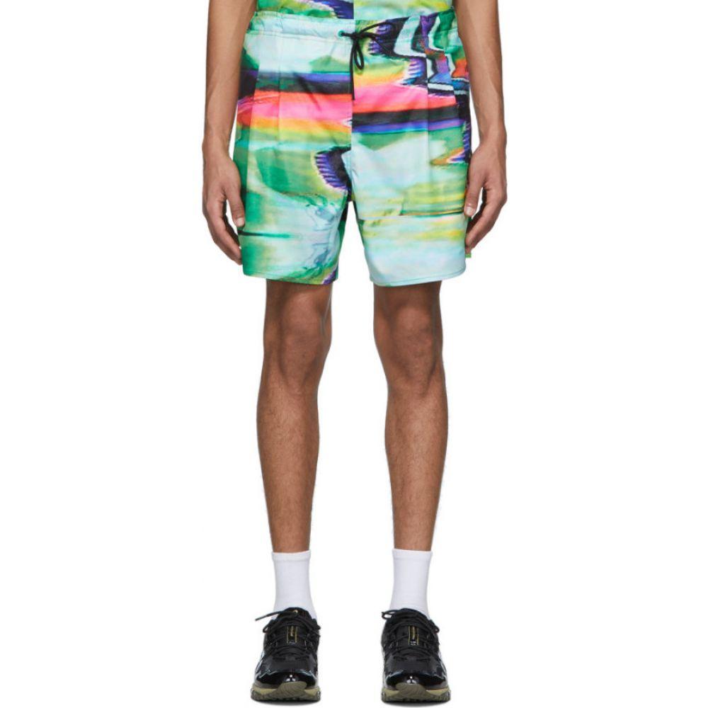 ロシャンボー Rochambeau メンズ ショートパンツ ボトムス・パンツ【Multicolor Scramble Sport Shorts】Scramble