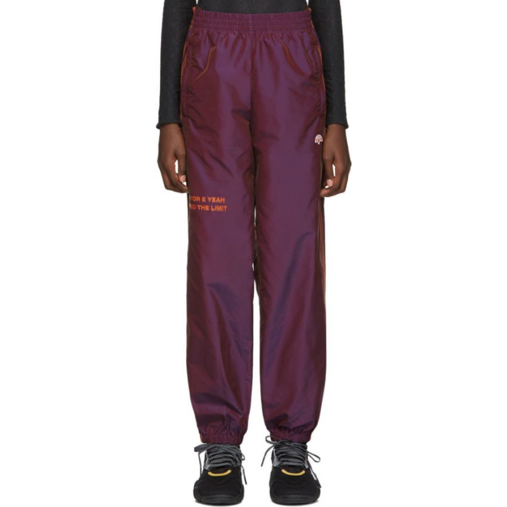 アディダス adidas Originals by Alexander Wang レディース スウェット・ジャージ ボトムス・パンツ【Purple 'You For E Yeah Exceed The Limit' Track Pants】Multicolor