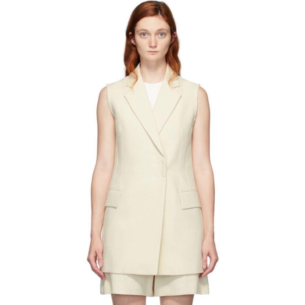 ジョゼフ Joseph レディース ベスト・ジレ トップス【Beige Cotton Jyrielle Vest】Cream