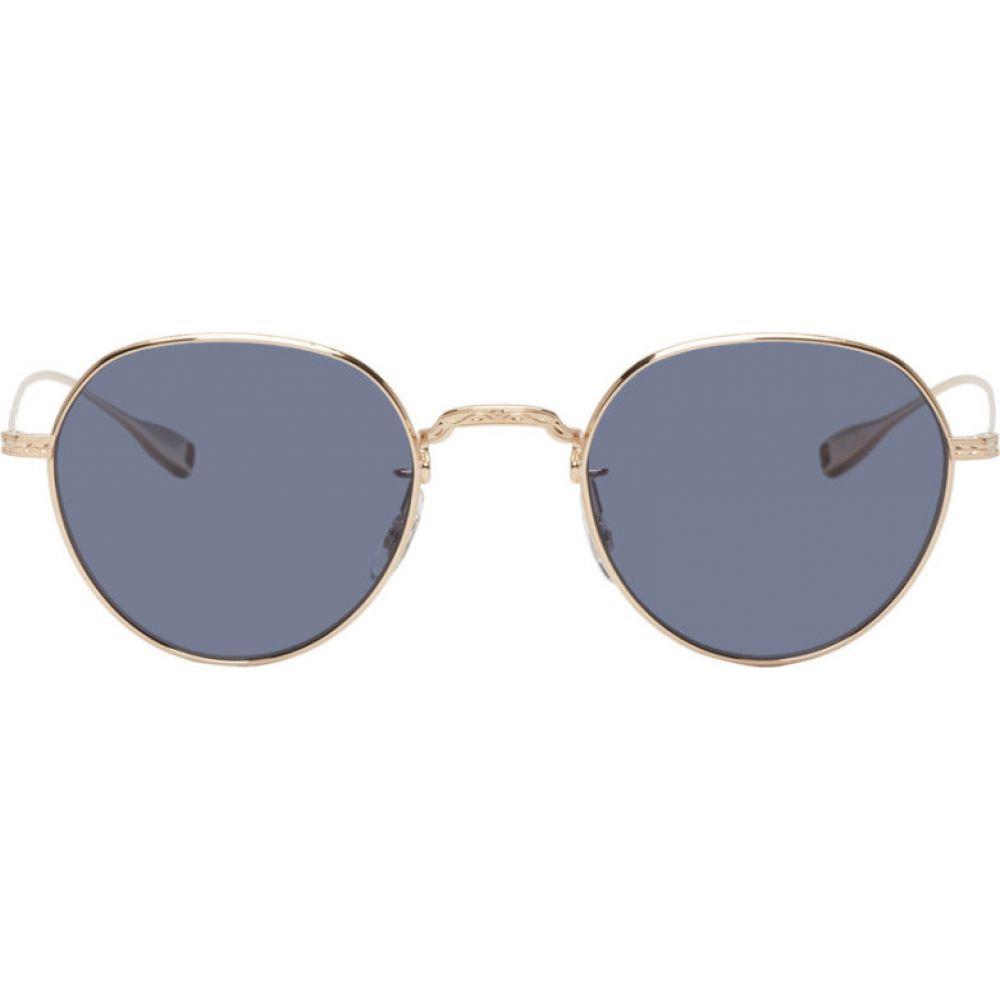 アイヴァン Eyevan 7285 メンズ メガネ・サングラス 【Gold & Navy Epitome Sunglasses】