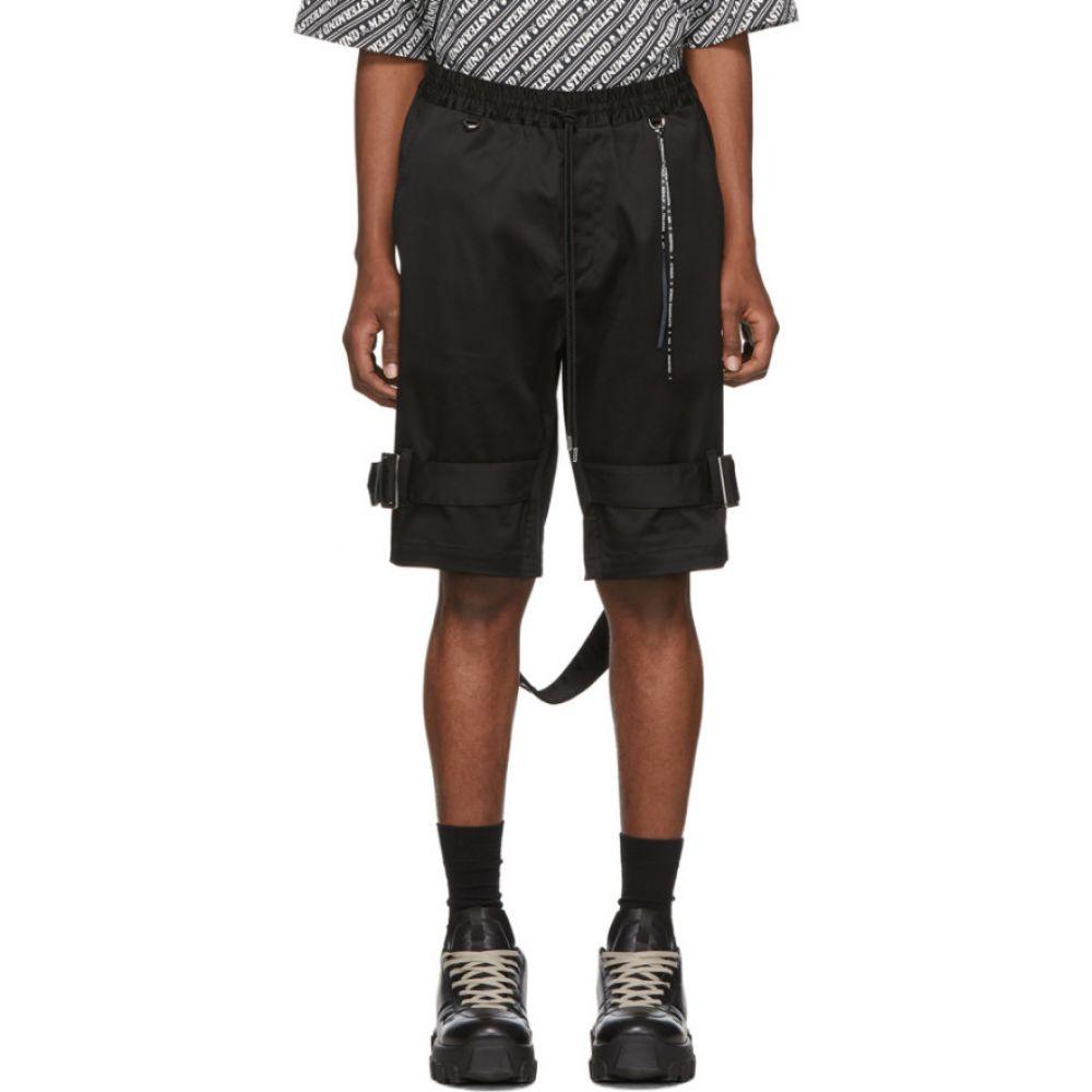 マスターマインド mastermind WORLD メンズ ショートパンツ ボトムス・パンツ【Black Bondage Shorts】Black