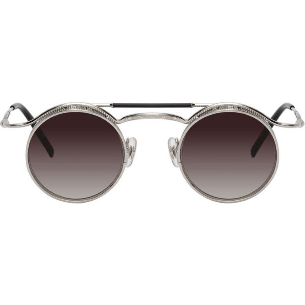 マツダ Matsuda メンズ メガネ・サングラス 【Black 2903H Sunglasses】Matte black/Silver mirror