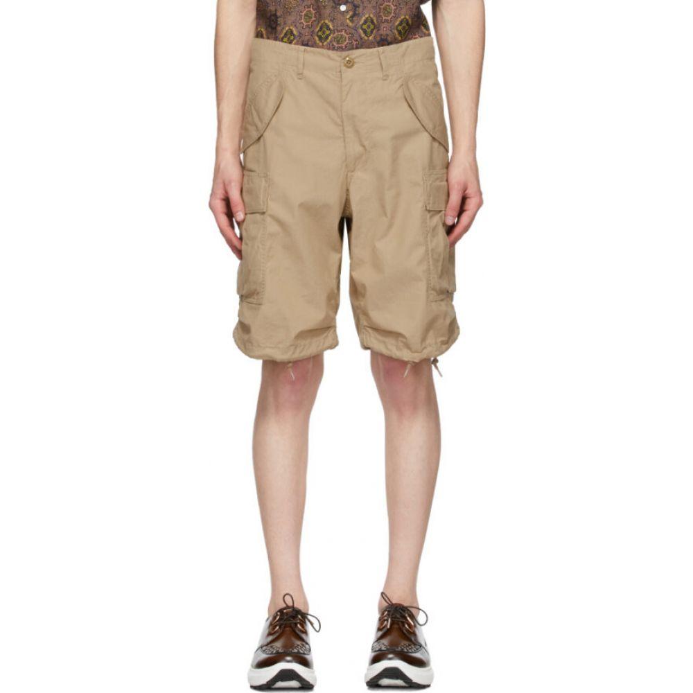 ビームス プラス BEAMS PLUS メンズ ショートパンツ ボトムス・パンツ【Beige Ripstop 80/3 Shorts】Beige