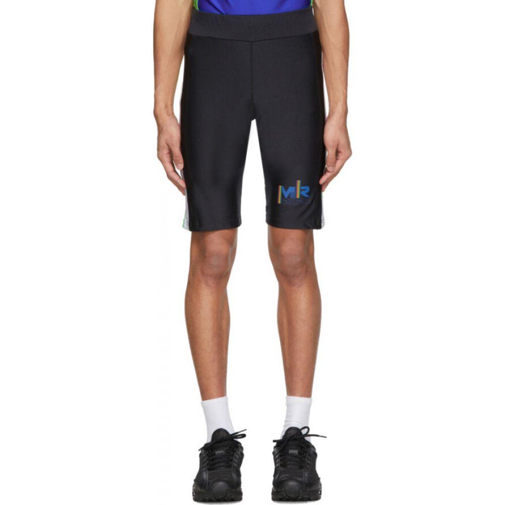 マーティン ローズ Martine Rose メンズ 自転車 ショートパンツ ボトムス・パンツ【SSENSE Exclusive Black & Blue Cycling Shorts】Bright blue