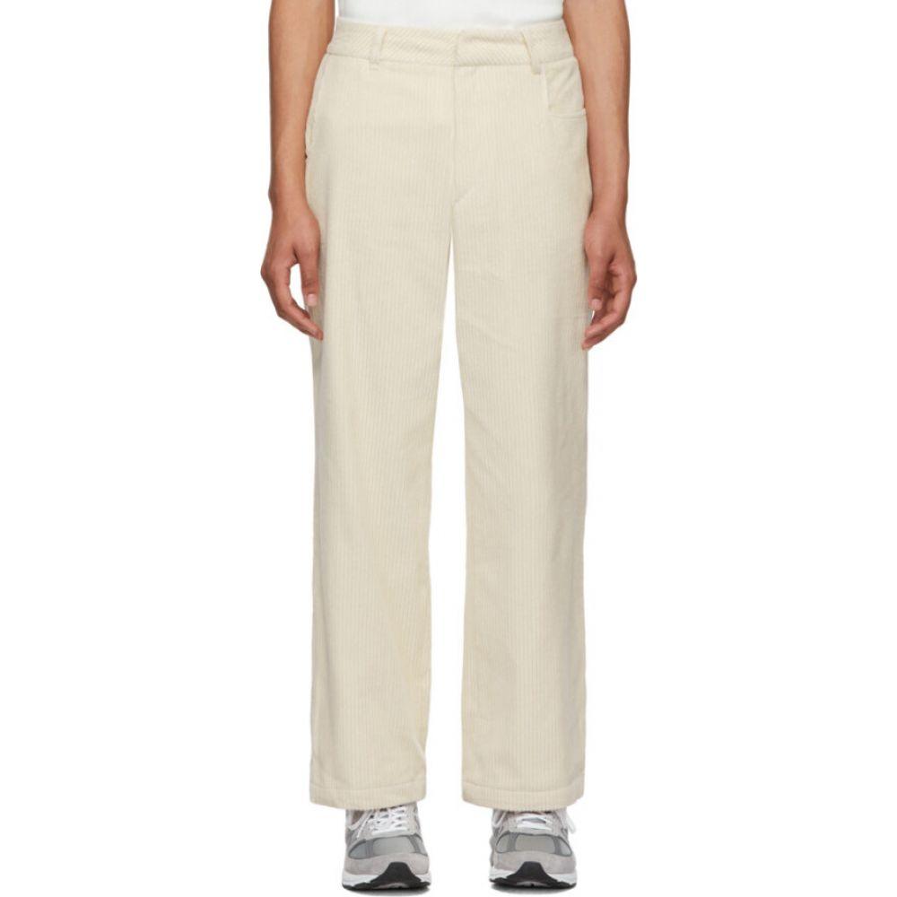 アーダーエラー ADER error メンズ ジーンズ・デニム ボトムス・パンツ【Off-White Ogden Jeans】Ivory