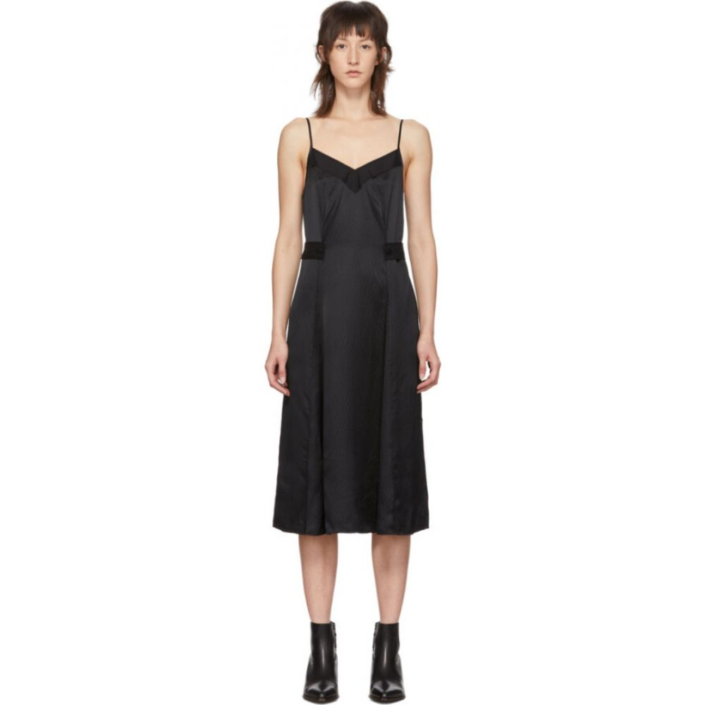ラグ&ボーン rag & bone レディース ワンピース タンクドレス ワンピース・ドレス【Black Hugo Tank Dress】Black