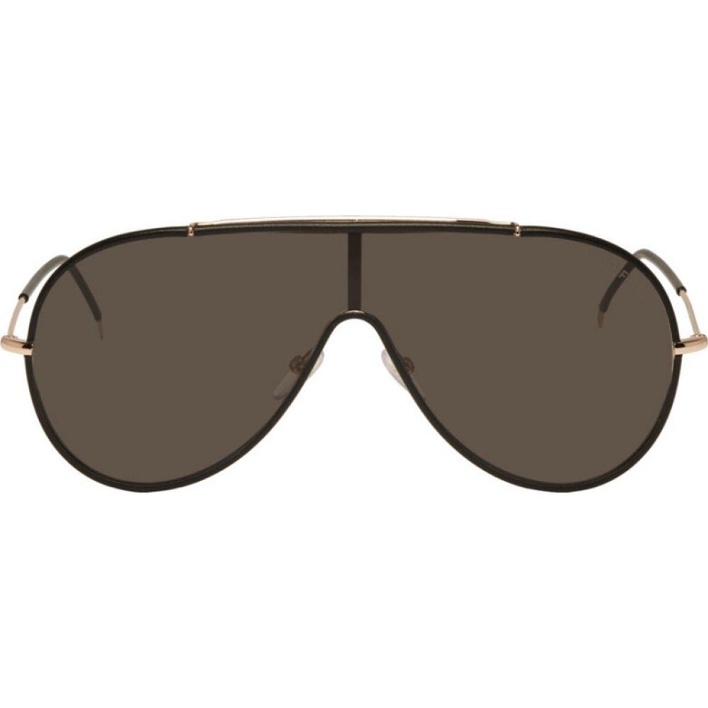 トム フォード Tom Ford メンズ メガネ・サングラス 【Black Mack Sunglasses】Rose black