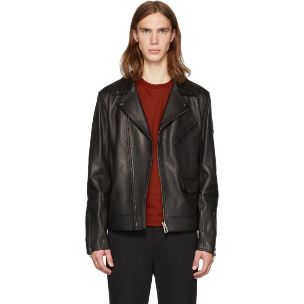 ベルスタッフ Belstaff メンズ レザージャケット アウター【Black Fenway Jacket】Black