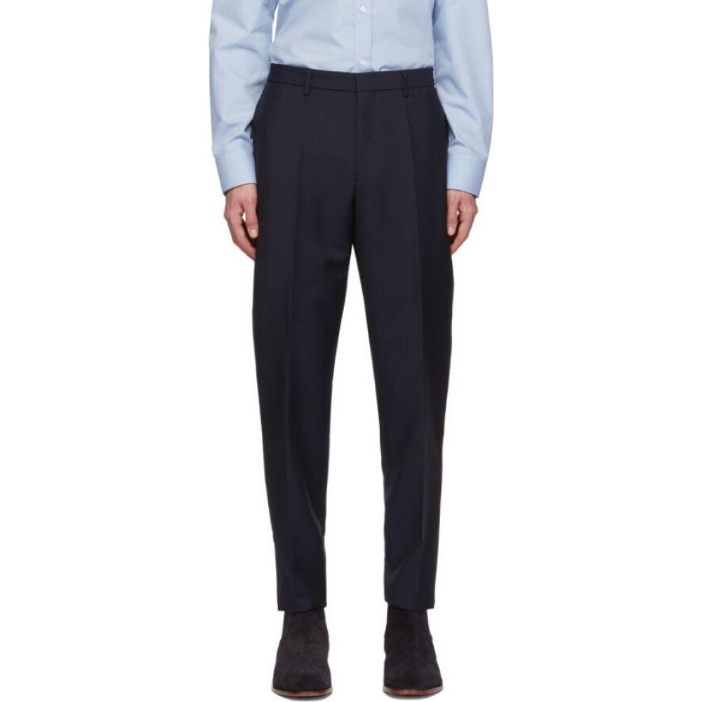 ヒューゴ ボス Boss メンズ ボトムス・パンツ 【Navy Mohair Pirko 4 Trousers】Navy