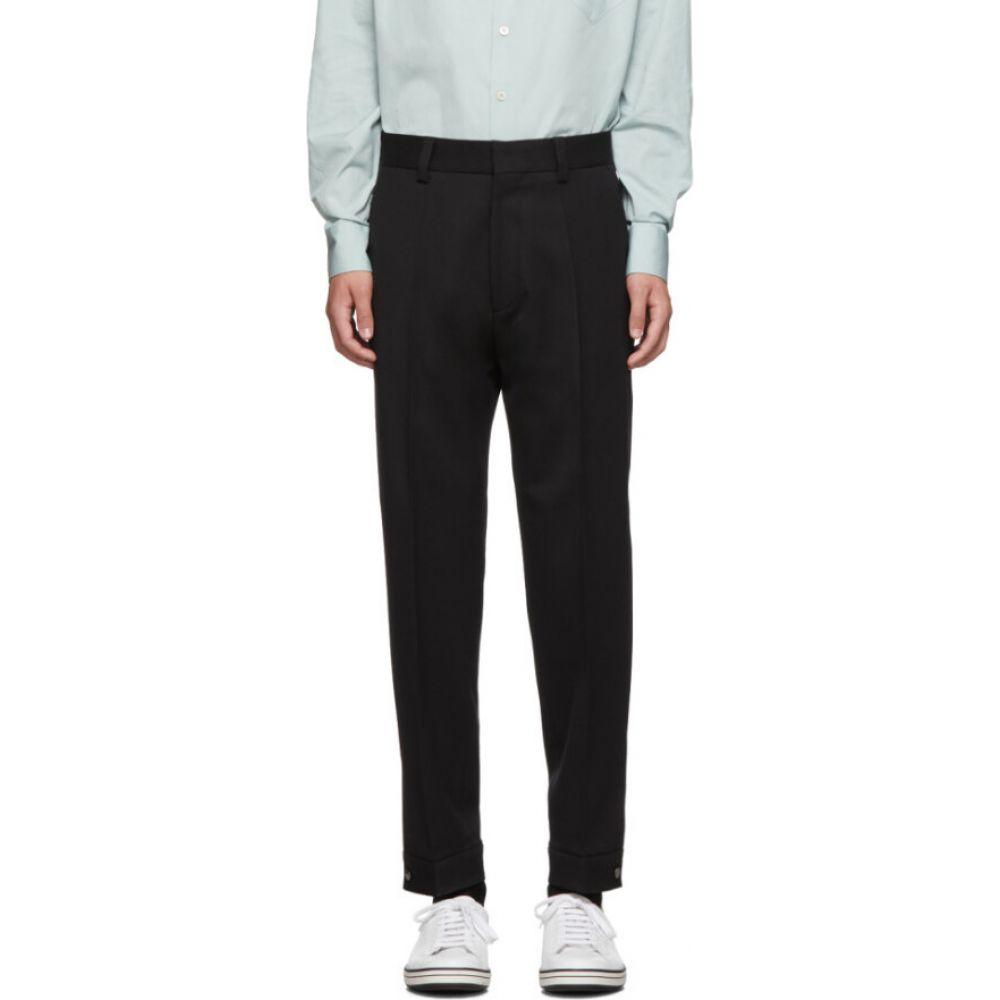 ヒューゴ ボス Boss メンズ ボトムス・パンツ 【Black Twill Peet Trousers】Black