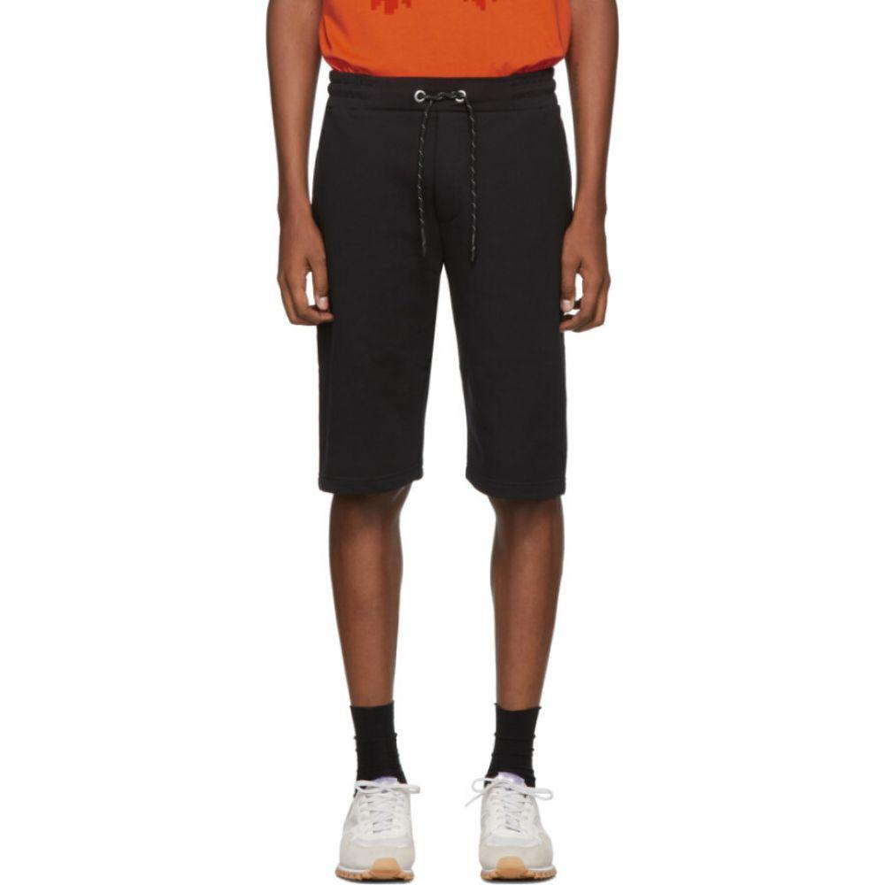 アレキサンダー マックイーン McQ Alexander McQueen メンズ ショートパンツ ボトムス・パンツ【Black Dart Sweat Shorts】Black