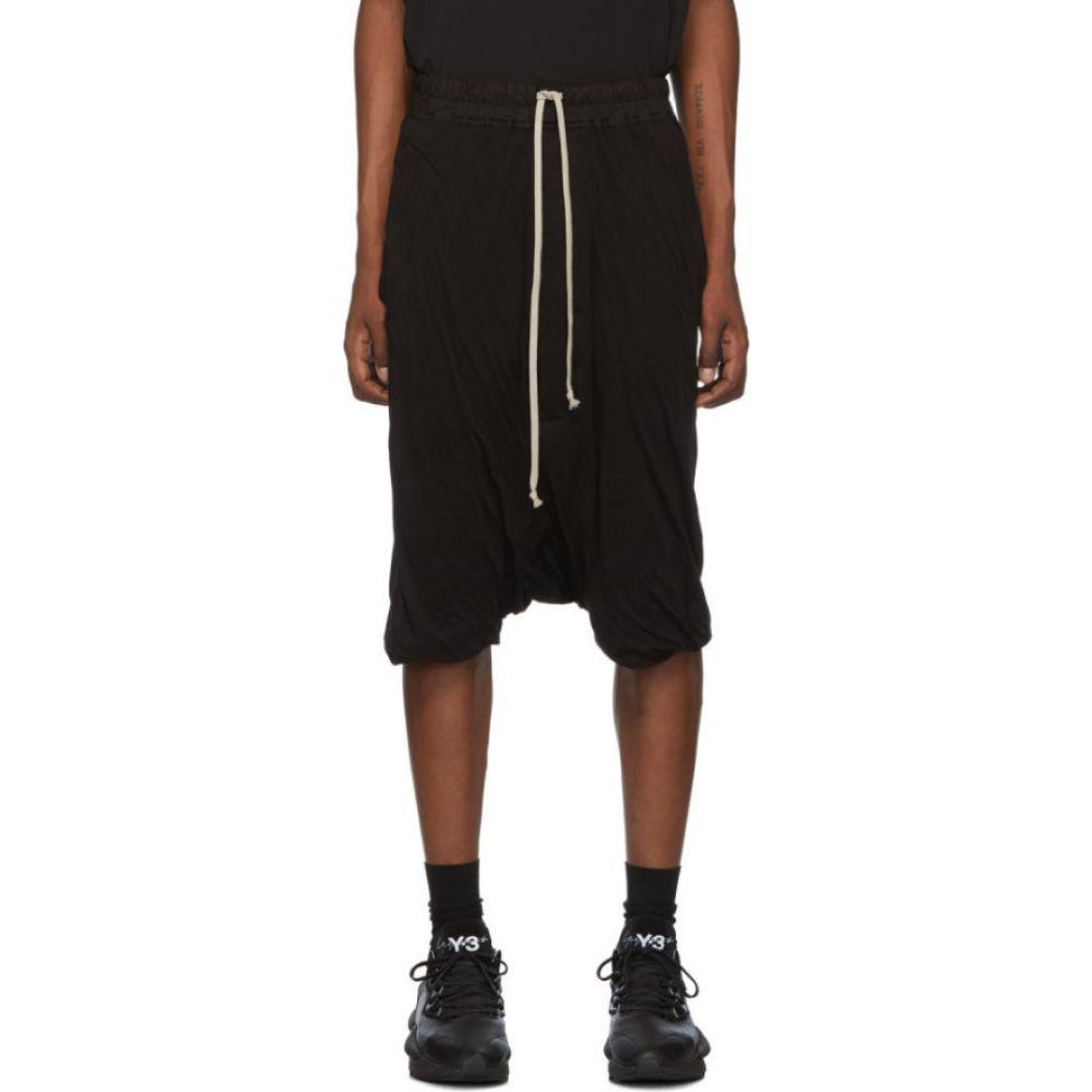 リック オウエンス Rick Owens Drkshdw メンズ ショートパンツ ボトムス・パンツ【Black Pod Shorts】Black
