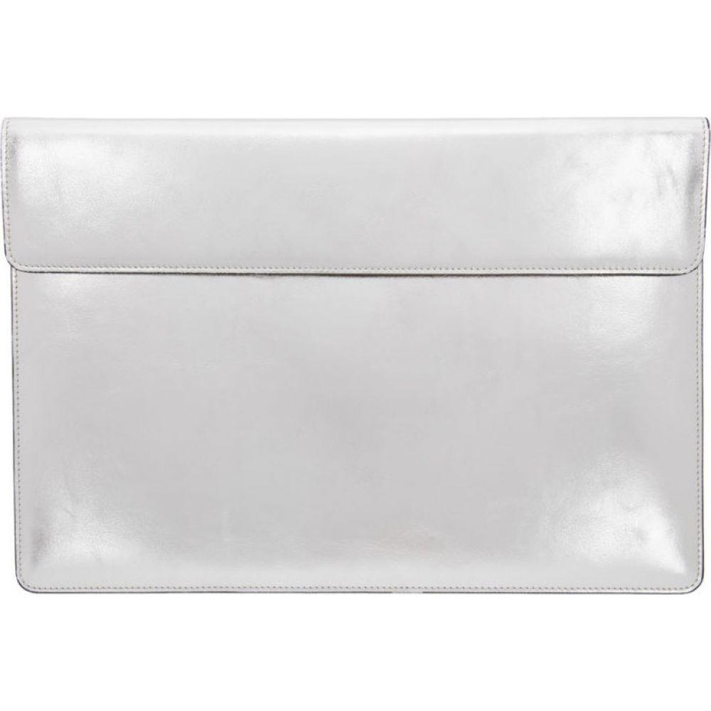 コモン プロジェクト Common Projects メンズ ビジネスバッグ・ブリーフケース バッグ【Silver Leather Document Dossier】Silver