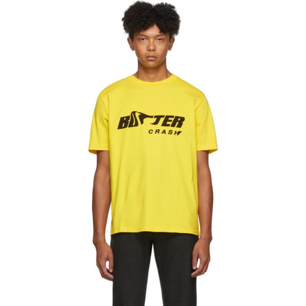 ボッター Botter メンズ Tシャツ トップス【Yellow Crash T-Shirt】Yellow/Black